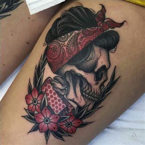 tattoo old school ciliegie los 10 mejores tatuajes de calaveras tucalavera com