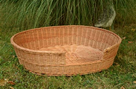 wicker dog bed medium large dog bed large dog basket wicker dog furniture