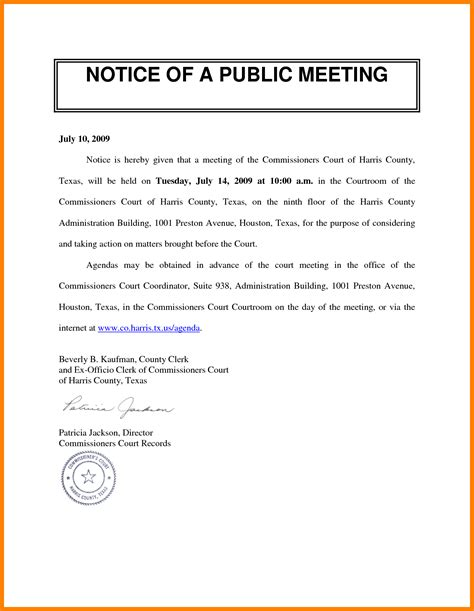 notice memo meeting memo resume template sle
