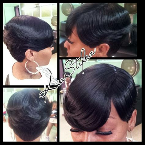 quick weave wrap styles 1000 images about short quick weave hairstyles on pinterest