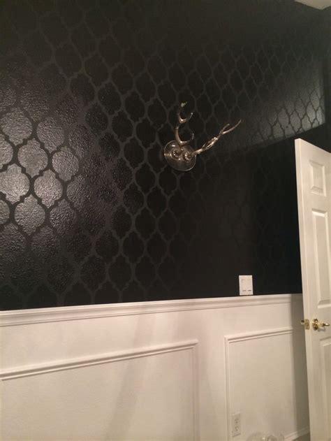 matte black walls 17 best images about dining room on pinterest black