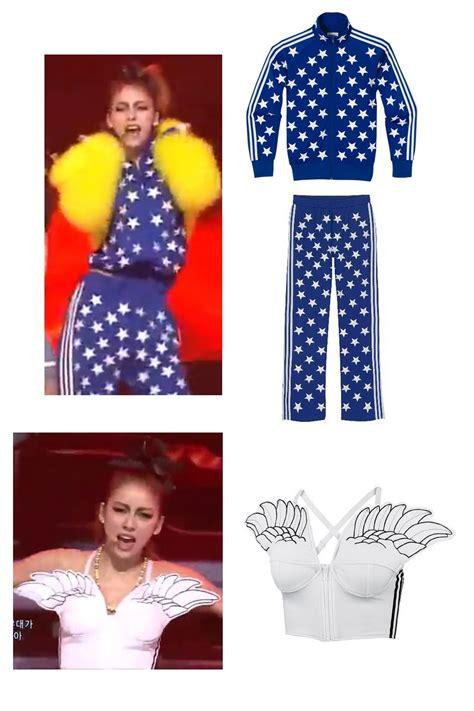 Fashion Teddy A30 Mv kpop style hyori wearing