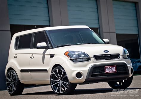 Kia Soul Aftermarket Wheels Kia Soul Custom Wheels Enkei Svx 20x Et Tire Size R20