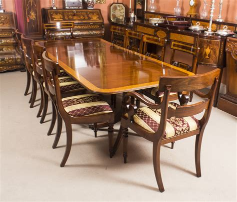 Harrods Dining Tables Vintage Dining Table By William Tillman Harrods 10 Chairs Ref No 08637a
