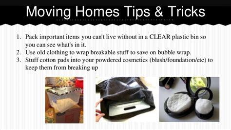 moving tips awesome moving tips tricks
