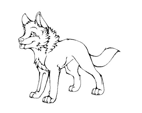 wolf puppies coloring pages wolf pup lineart by machinewolf2 on deviantart