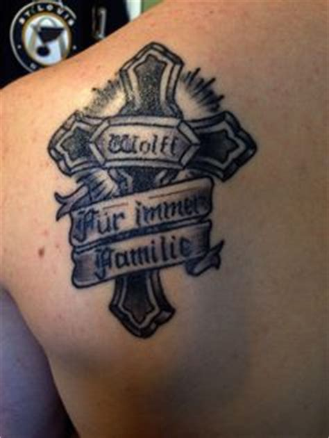 tattoos on pinterest cross tattoos and families