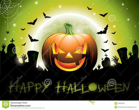 halloween themes vector vector illustration on a happy halloween theme wit royalty