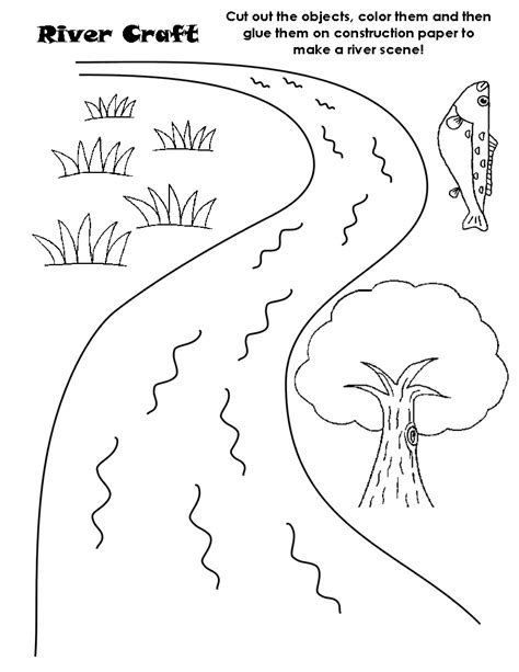 river scene coloring page river scene colorin amazing river coloring pages printable
