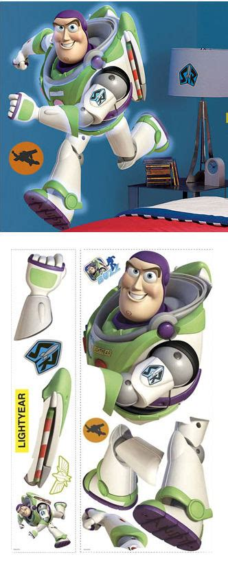 buzz lightyear wall stickers buzz lightyear wall sticker