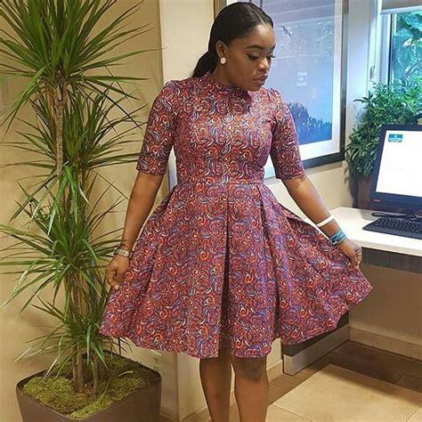 fabulous short gown ankara styles   latest