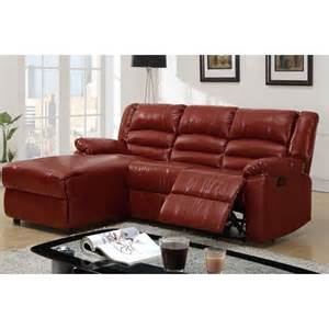 reclining sofa with chaise decorating ideas for your living space with leather
