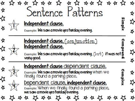 sentence pattern grade 8 2 fulbright hugs 12 new 5th grade items