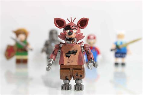 lego foxy tutorial five nights at freddy s customs lego foxy minifigure
