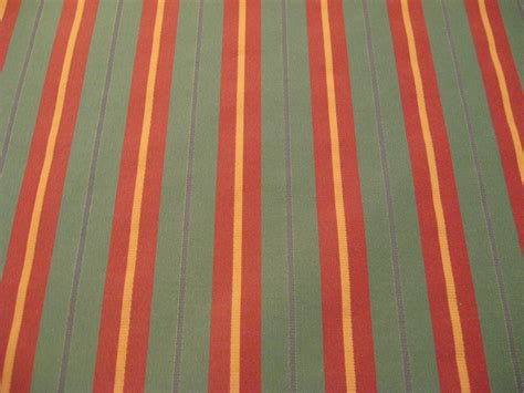 red and gold curtain fabric red green and gold woven matte satin stripe upholstery