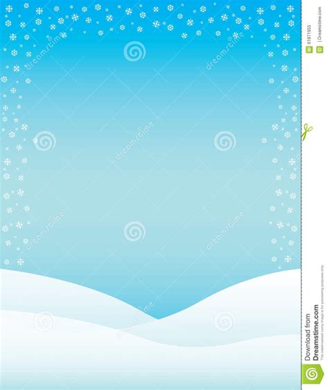 winter templates winter brochure background stock illustration image