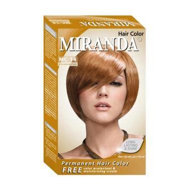 Harga Miranda by Garnier Nutrisse Crme Hairdye 43 Golden Brown Shop