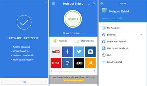 hotspot shield4 4 hotspot shield elite 6 20 4 latest free vpn software 1448