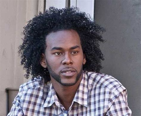 Long Curly Hair for Black Men   Men's Hairstyles