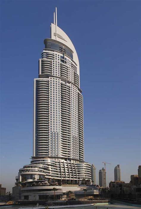 tower address the address dubai uae skyscraper e architect