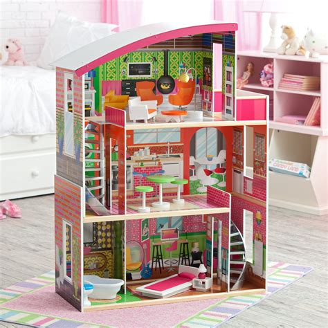 kid craft doll house kidkraft designer dollhouse 65156 dollhouses at