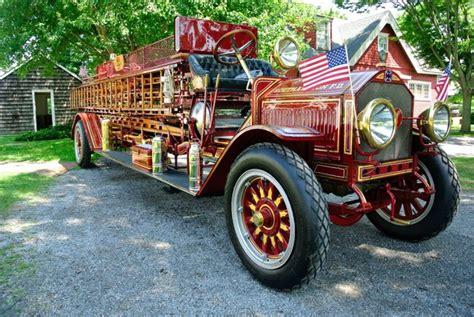 southampton fire department hosts antique fire truck show