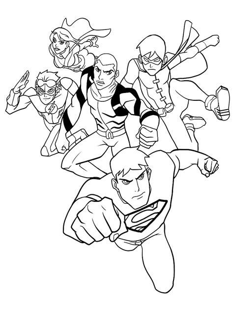 imagenes del valor justicia para colorear dibujos para colorear liga de la justicia para un