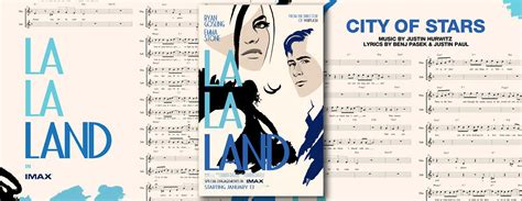 Imax Poster Giveaway - la la land mini poster sheet music giveaway imax