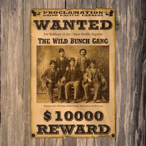 Create An Old West Wanted Poster In Adobe Photoshop Western Wanted Poster Template