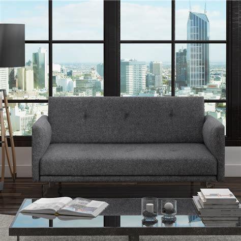 2 Seater Grey Sofa by 2 Seater Modern Fabric Sofa In Grey Charcoal Ebay