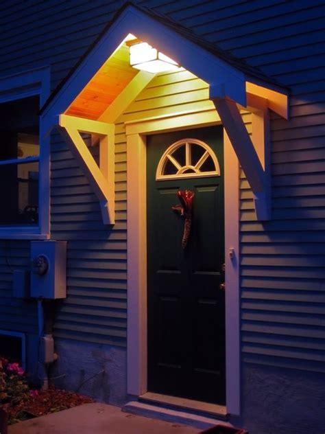 40 Lovely Door Overhang Designs Bored Art Exterior Door Overhang Designs