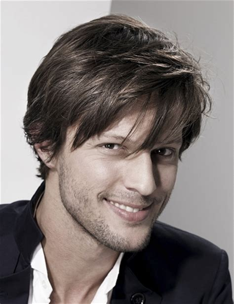 men hairstyle medium front long back sex men hairstyle with very long layered bangs and medium