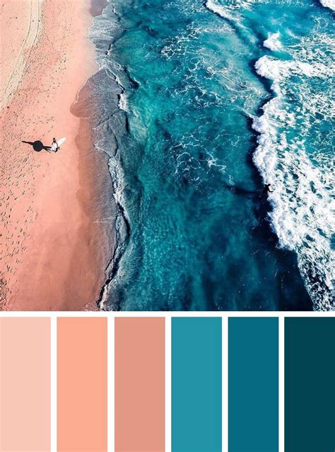 find color inspiration ideas for your home peach and teal