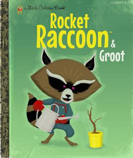 groot books joebot a golden book quot guardians of the galaxy quot style
