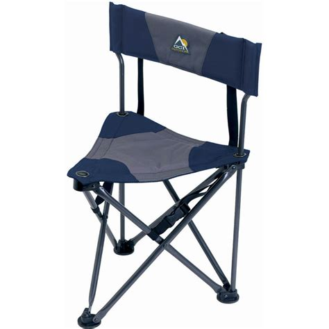 quik e seat gci outdoor quik e seat stool with padded backrest 19014 b h