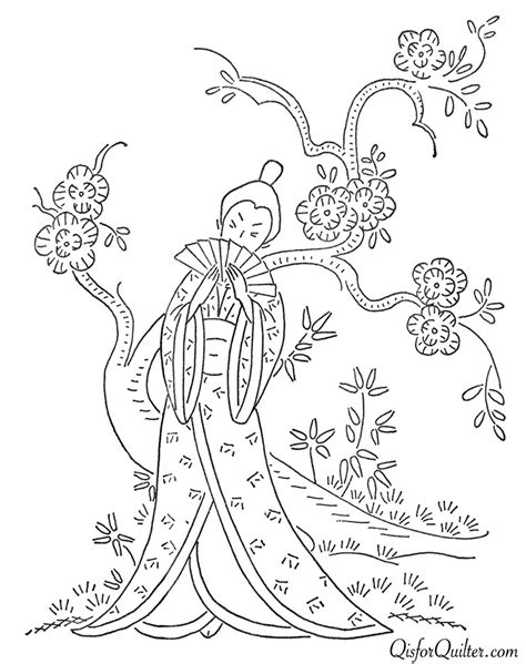 japanese embroidery pattern vintage japanese embroidery designs q is for quilter