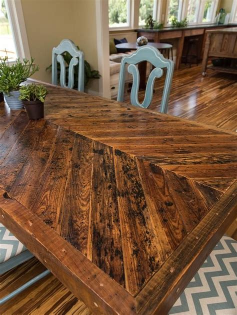 wood dining room table best 25 chevron table ideas on patio table