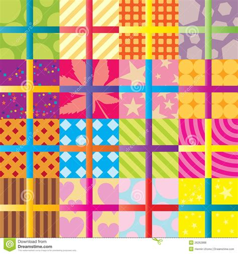 gifted pattern recognition seamless gifts pattern stock vector image of color