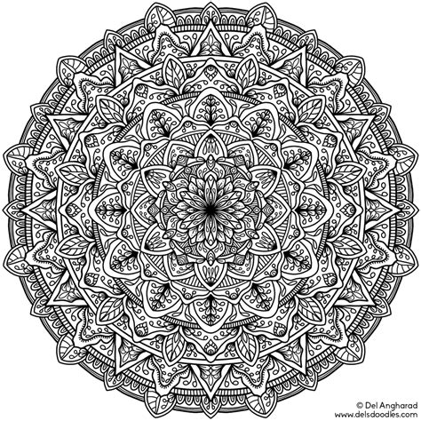 best mandala coloring books for adults coloring