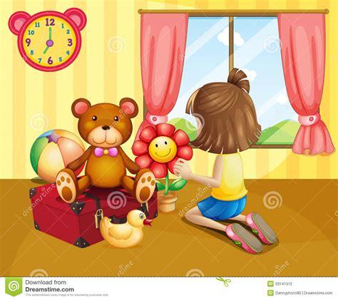 imagen de un ni 241 o con un gato para colorear archivos un ni 241 o que arregla sus juguetes dentro de la casa