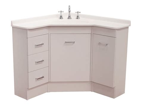 Corner Cabinet Bathroom Vanity Corner Bathroom Vanity Unit Home Design Ideas Pinteres