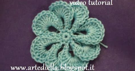 fiore semplice all uncinetto le fragole di stoffa tutorial semplice fiore all