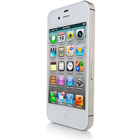 Iphone 4s 32gb White apple iphone 4s 32gb white ios 4g lte smartphone for t