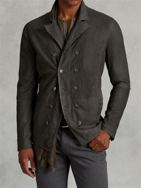Zurrel Jaket Hoodie Jumper Tuton Green Grey suede cut away jacket varvatos mens fashion varvatos and jackets