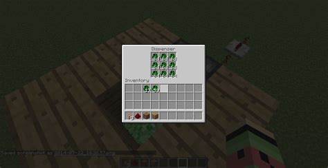 dispense java spawn egg dropper with dispenser and redstone redstone