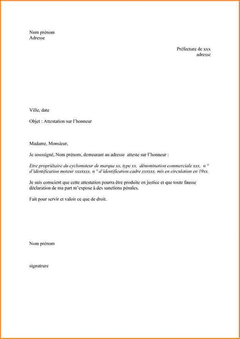 Exemple De Lettre Justificatif 7 Exemple De Justificatif De Domicile Lettre De Demission