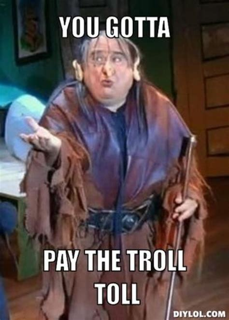 Troll Meme Generator - get your troll on options trading with option addict