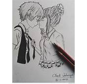 Pictures Pencil Sketches Of Romantic Couple  DRAWING
