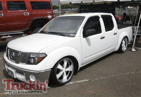 nissan frontier bagged bagged frontier because minitruck pinterest