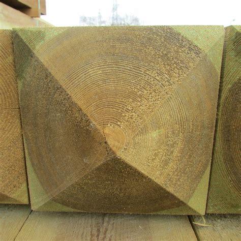 wooden gate posts pyramid top galvanised ironwork